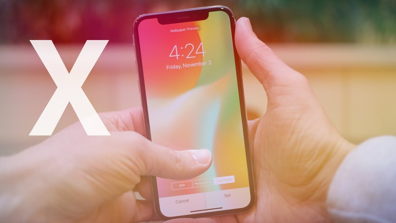 iphone x: new dynamic & live wallpapers! - youtube