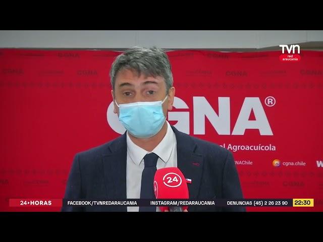 Tvn Red Araucanía destacó visita de autoridades a CGNA