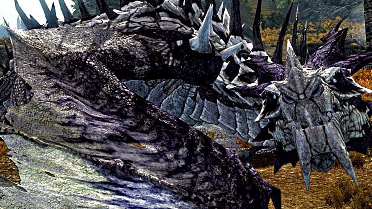 Skyrim Special Edition: FROST DRAGON Encounter! (LEGENDARY ...