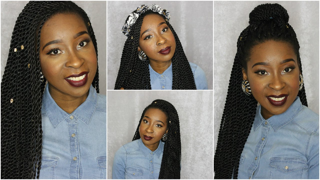 7 Ways To Style Your Crochet Twists
