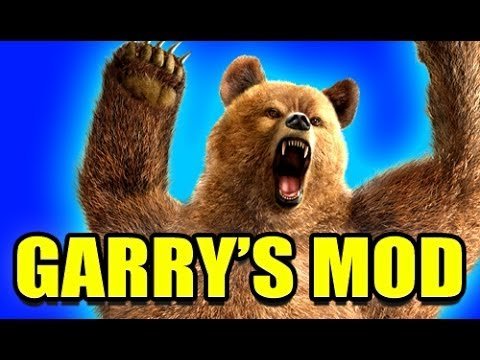 Gmod BEAR NPC Mod! (Garry's Mod) Travel Video