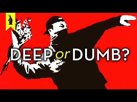Is BANKSY Deep or Dumb? – Wisecrack Edition