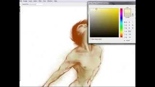 Speed Painting - Archangel Michael