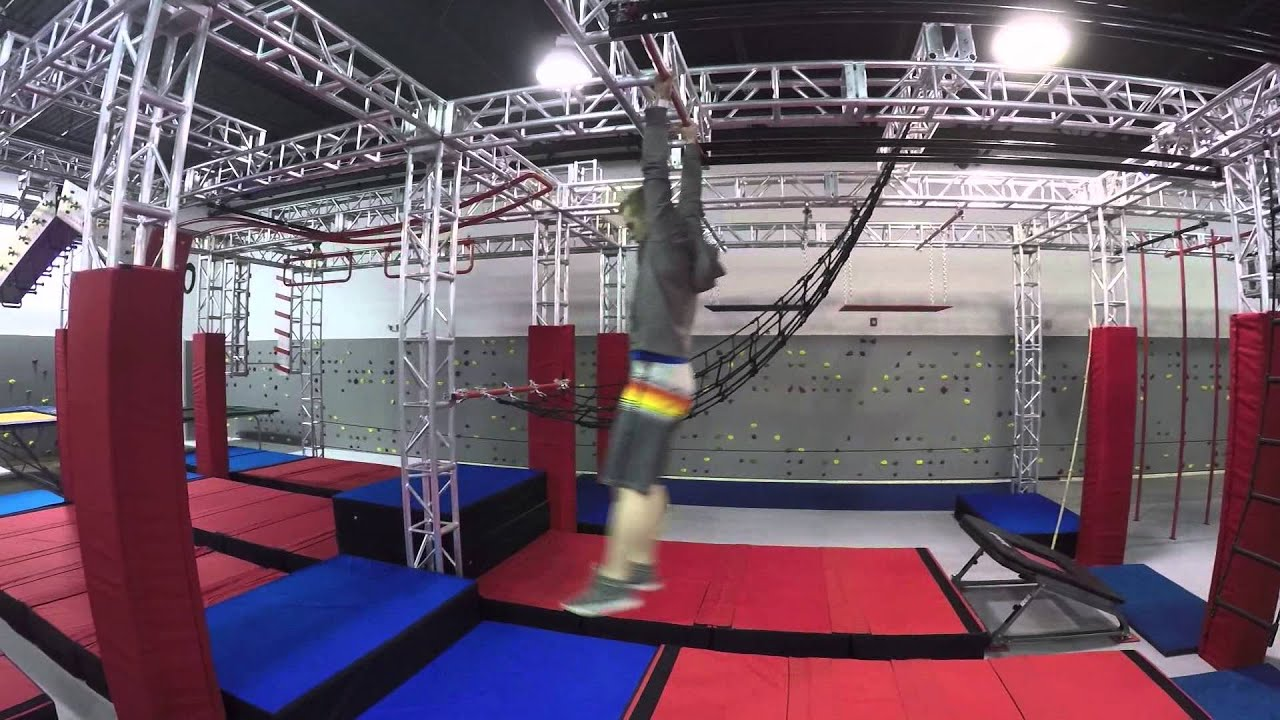 Ninja warrior gym review lounge miami youtube