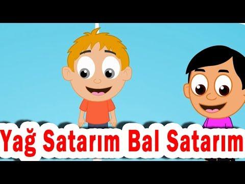 I Sell Oil - Drop the Handkerchief Turkish Game for Kids | Turkish Rhymes | Yağ Satarım Bal Satarım