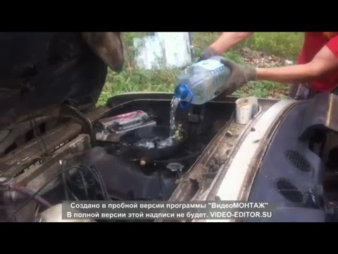 Гидроудар в прямом эфире или как умирают тазы (сдал машину в метал)