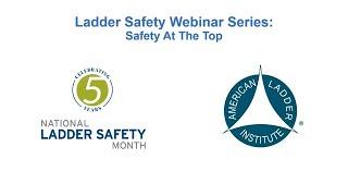 Werner Ladder - Webinar - Safety at the Top