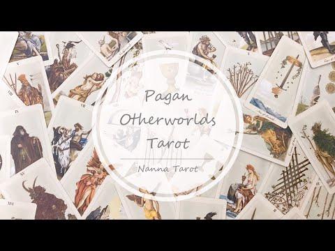 開箱  異教徒來世塔羅牌 • Pagan Otherworlds Tarot // Nanna Tarot
