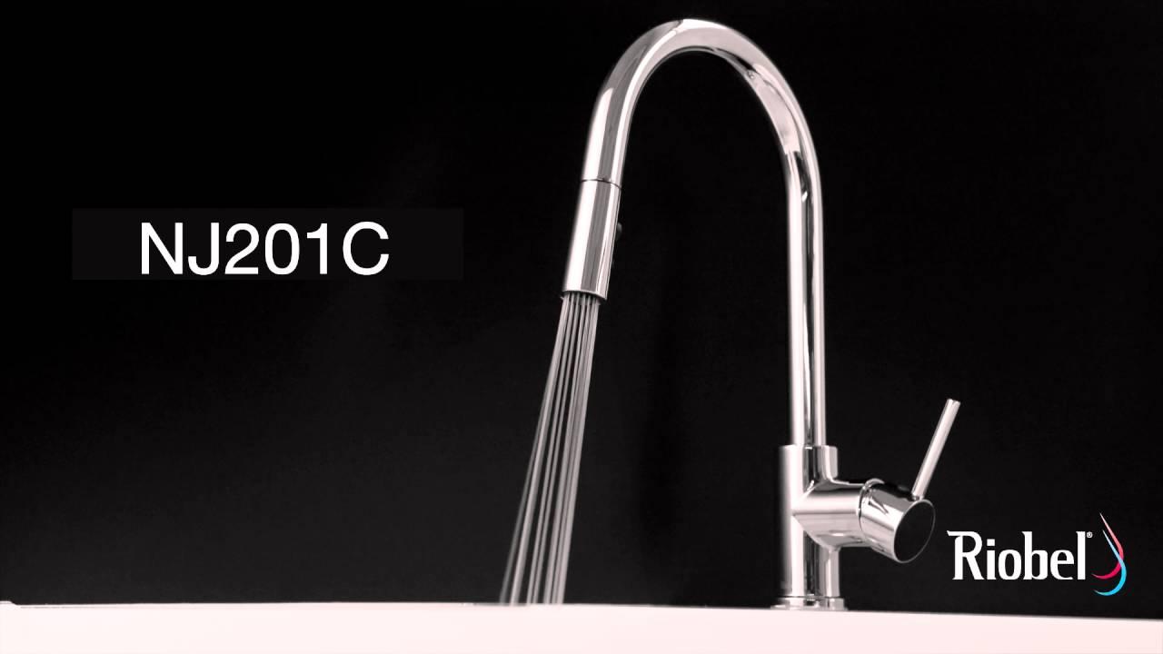 Riobel Pro Njoy kitchen faucet / robinet de cuisine Njoy NJ201C Jet ...