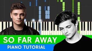 Martin Garrix & David Guetta - So Far Away - PIANO