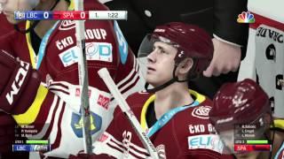 NHL 16 | FINÁLE TIPSPORT EXTRALIGY | HC Sparta Praha-HC Bílí Tygři Liberec | XBOX ONE | CZ