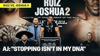 """Anthony Joshua: """"Stopping Isn't In My DNA"""""""