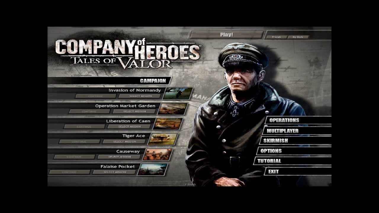 Company of heroes: tales of valor — компьютерная игра в жанре стратегии в реальном времени, самостоятельное дополнение к оригинальной игре.
