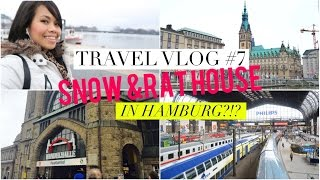 Travel Vlog #7 Snow & Rat house in Hamburg?!?!