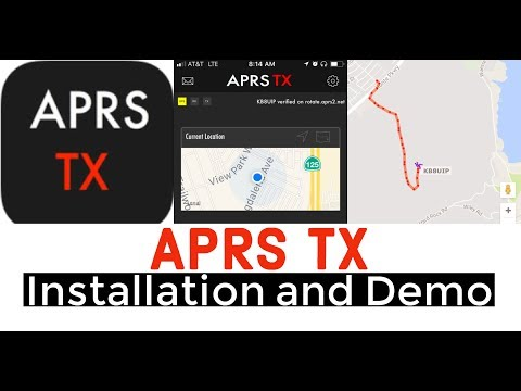 APRS TX App Installation And Demo