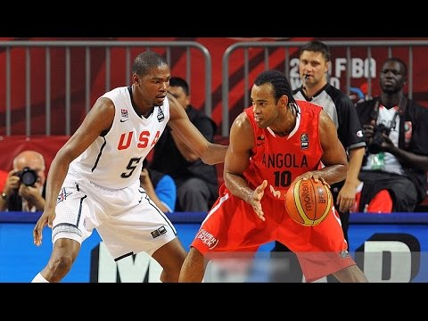 USA vs Angola 2010 FIBA World Basketball Championship Top 16 Round FULL GAME English