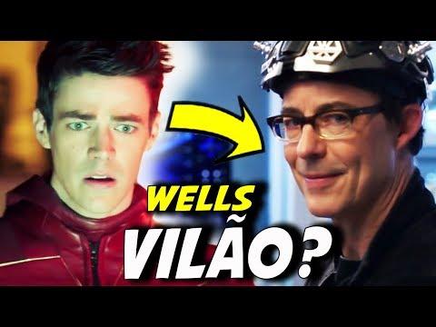 HARRY WELLS VAI VIRAR VILÃO? || THE FLASH 4X16