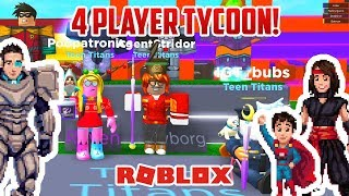 Roblox: 4 PLAYER TYCOON! alla fine