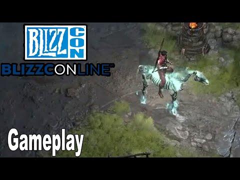 Diablo IV - Gameplay Demo BlizzCon 2021 [HD 1080P]