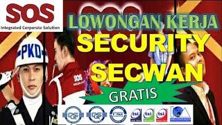 Buka Kembali Lowongan Kerja Loker Security Dan Secwan Jabodetabek Satpam Juni 2020 Pt Sos Youtube