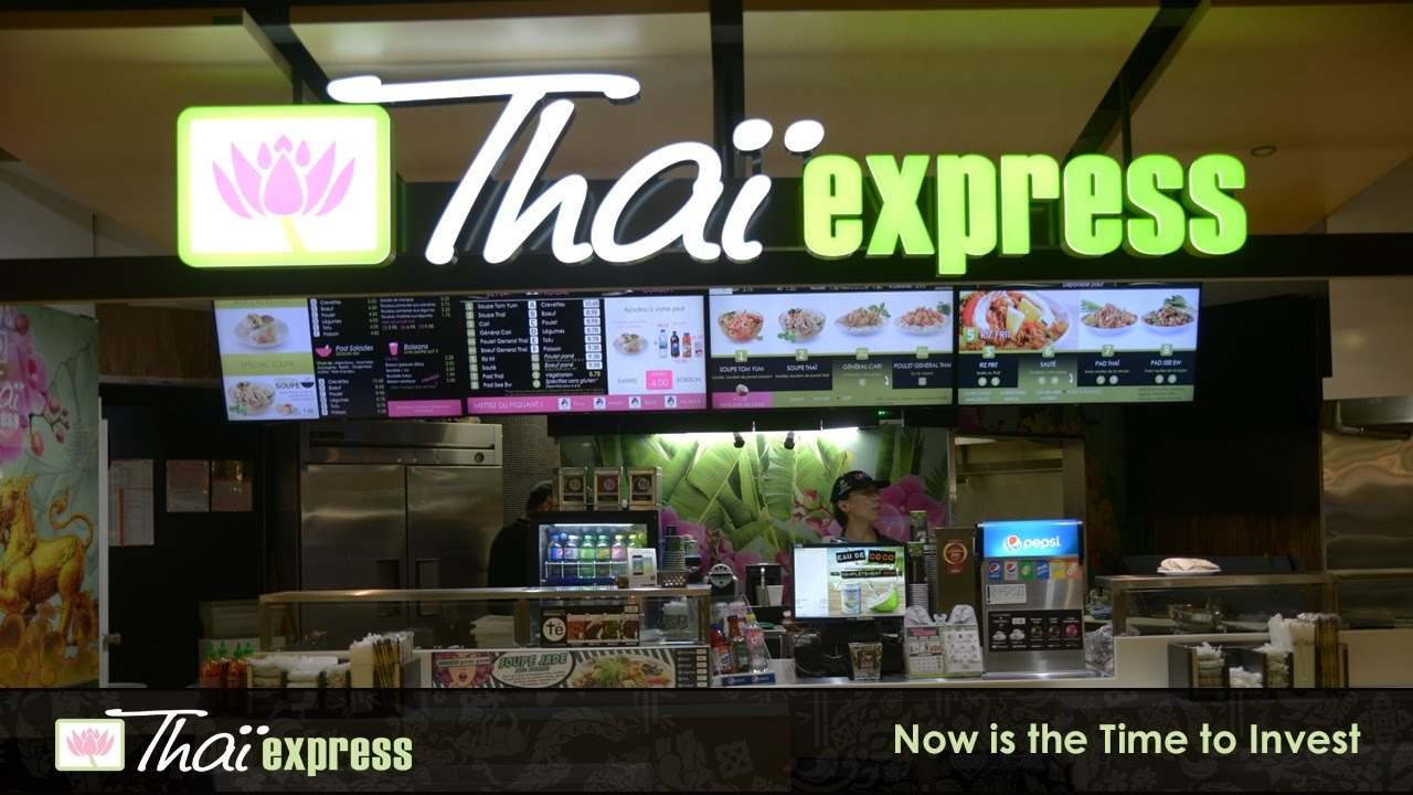 Thai Express Franchise — the Industry Leader in Thai Cuisine