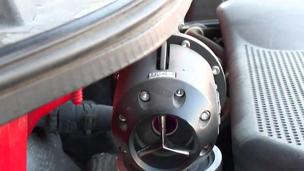 Forge FMDVSPLTR Audi Seat Skoda VW Recirculation BLOW OFF DUMP VALVE Noir