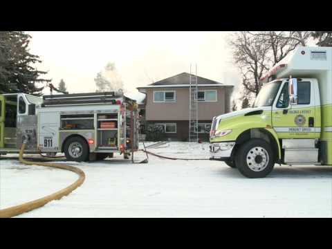Another Fire Engulfs a Southern Alberta Home