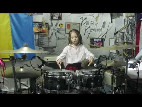 Sayonara Elegy by Masaki Suda - Drum cover by Kate Kuziakina (9 y.o. girl drummer)