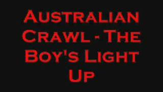 Australian Crawl - Boy