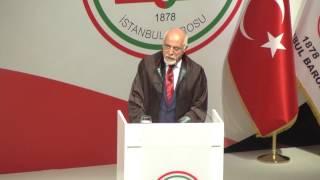 Mehmet Durakoğlu İstanbul Barosu Genel Kurul konuşması (Ekim 2016)