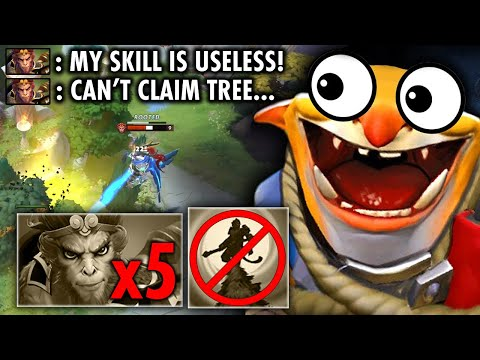 RIP MONKEY!! YOU ARE NOT ALLOWED TO CLAIM THE TREES THIS GAME |  TECHIES OFFICIAL