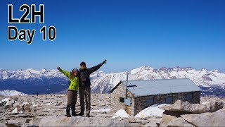 L2H-Day 10, Summit Day! Mountaineers Route up Mt Whitney.