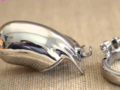 Custom Male Chastity Device   Integrated Locks