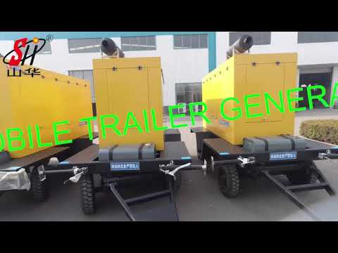 Portable Generator Set And Mobile Diesel Power Station