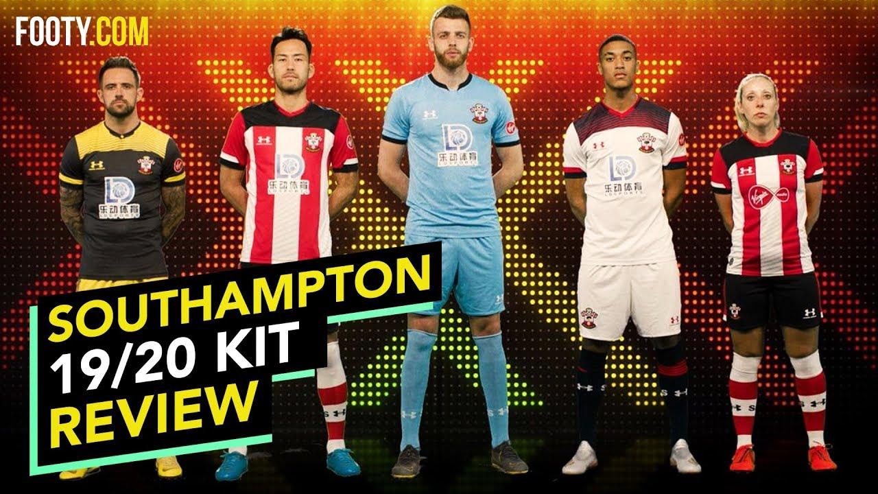 Under Armour 2018-2019 Southampton Home Football Soccer T-Shirt Jersey