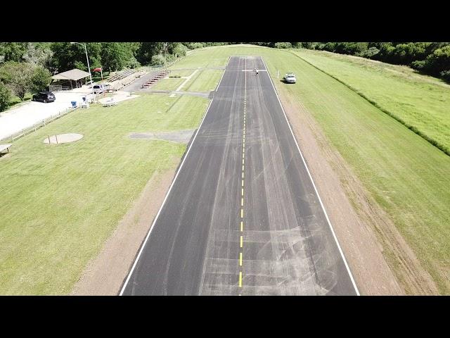 Hawks Field Runway update 7/4/2019