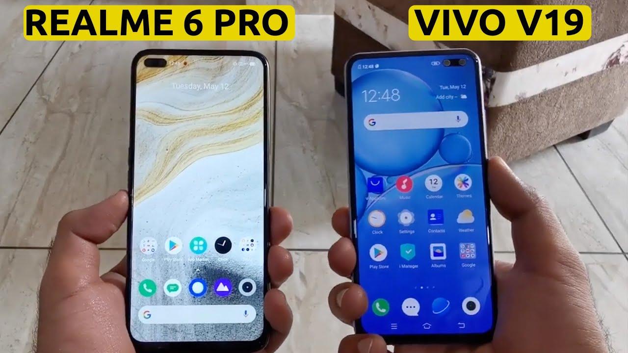 Vivo V19 vs Realme 6 Pro: Comparison Hindi
