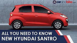 New Hyundai Santro: All You Need To Know | NDTV carandbike