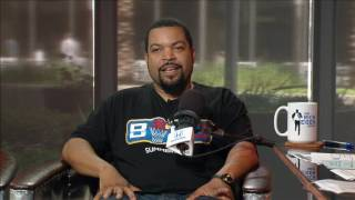 Musician & actor ice cube on oakland raiders - 4/18/17