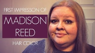 DYEING MY HAIR WITH MADISON REED HAIR COLOR   COMPLETE FAIL!
