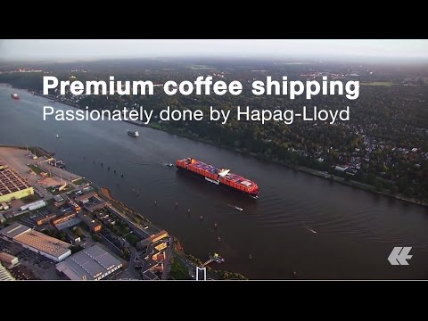 Premium coffee needs a premium shipping line | Hapag-Lloyd