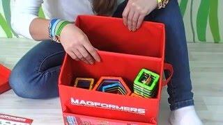 Магформерс магнитный конструктор  Magformers Строим башню и рушим ее :)(Собираем интересные игрушки с помощью магнитного конструктора Магформерс! Сегодня строим башню! И рушим..., 2016-03-28T16:29:18.000Z)