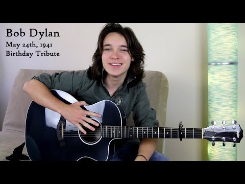 Knockin on Heavens Door  Bob Dylan Tribute   Dalton Cyr