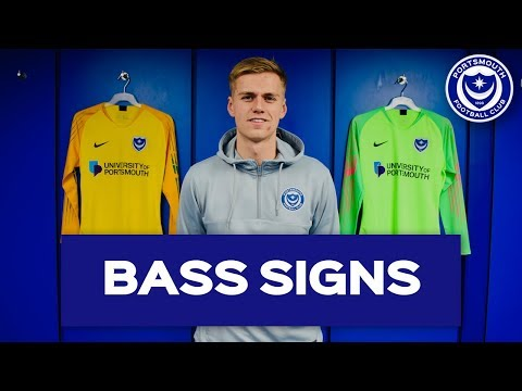 Alex Bass Signs New Three-and-a-half-year Pompey Deal