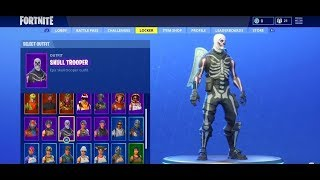 SELLING MY FORTNITE ACCOUNT WITH SKULL TROOPER + REAPER AXE + NOG OPS | 500+ Wins