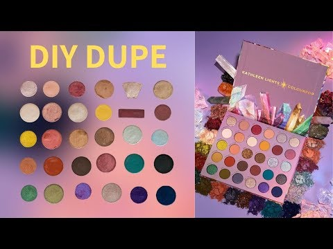 "Creating the Colourpop x Kathleen Lights ""So Jaded"" Palette Using Shades I Already Have DIY thumbnail"