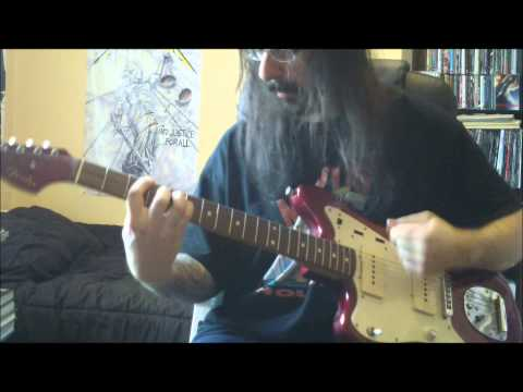 BUSH - Everything Zen - guitar cover - Full HD