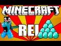 Rei do DIAMANTE - #6 Modo HARDCORE Minecraft