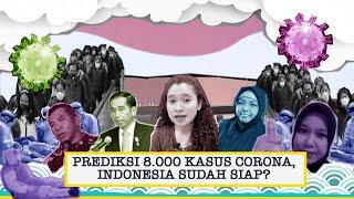 Skenario Terburuk 8.000 Kasus Corona, Indonesia Sudah Siap?