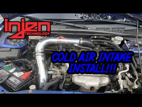 Injen Cold Air Intake Install | 2004 Honda Civic Ex Coupe